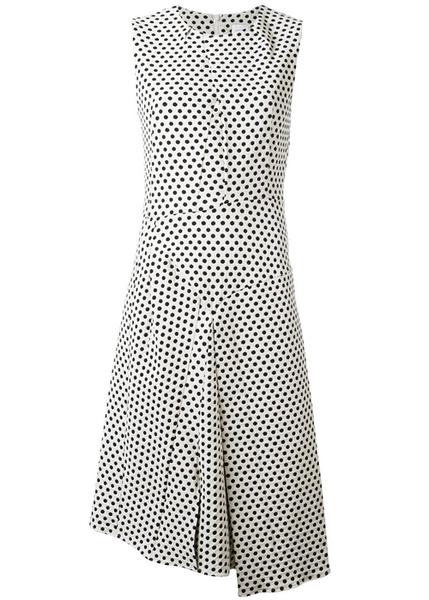 Платья в горошек: стильные горошки возвращаются в моду   галерея [1] фото [9]