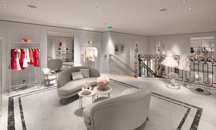 Dior, Baby Dior, Dior Kids, детская мода, открытие, бутик, Париж
