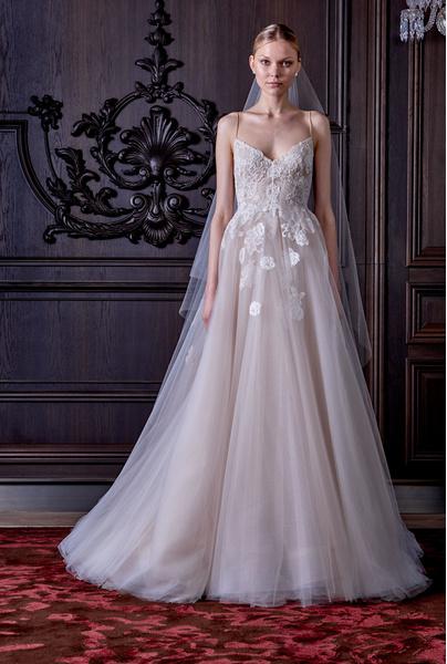 50 самых красивых платьев со Свадебной Недели Моды в Нью-Йорке | галерея [1] фото [28]