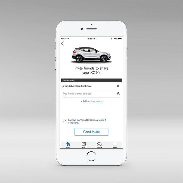 Автомобиль как айфон: новая концепция пользования машиной от Volvo фото [8]
