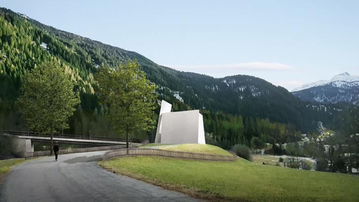 Придорожная часовня по проекту Herzog & de Meuron (фото 0)