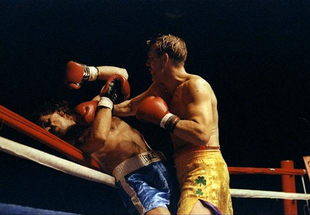 Бой Микки Рурка в 1992 году