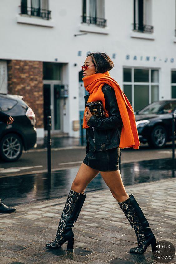 Как носить шарф этой осенью (фото 6)