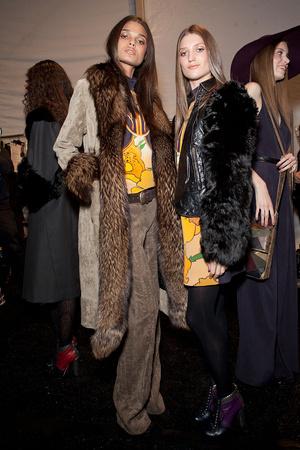 Показ Nicole Miller коллекции сезона Осень-зима 2012-2013 года prêt-à-porter - www.elle.ru - Подиум - фото 338729