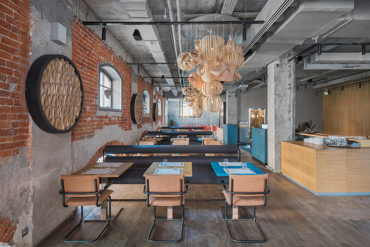 Проект бюро АrchPoint: ресторан «Комбинат» в Москве (фото 12)