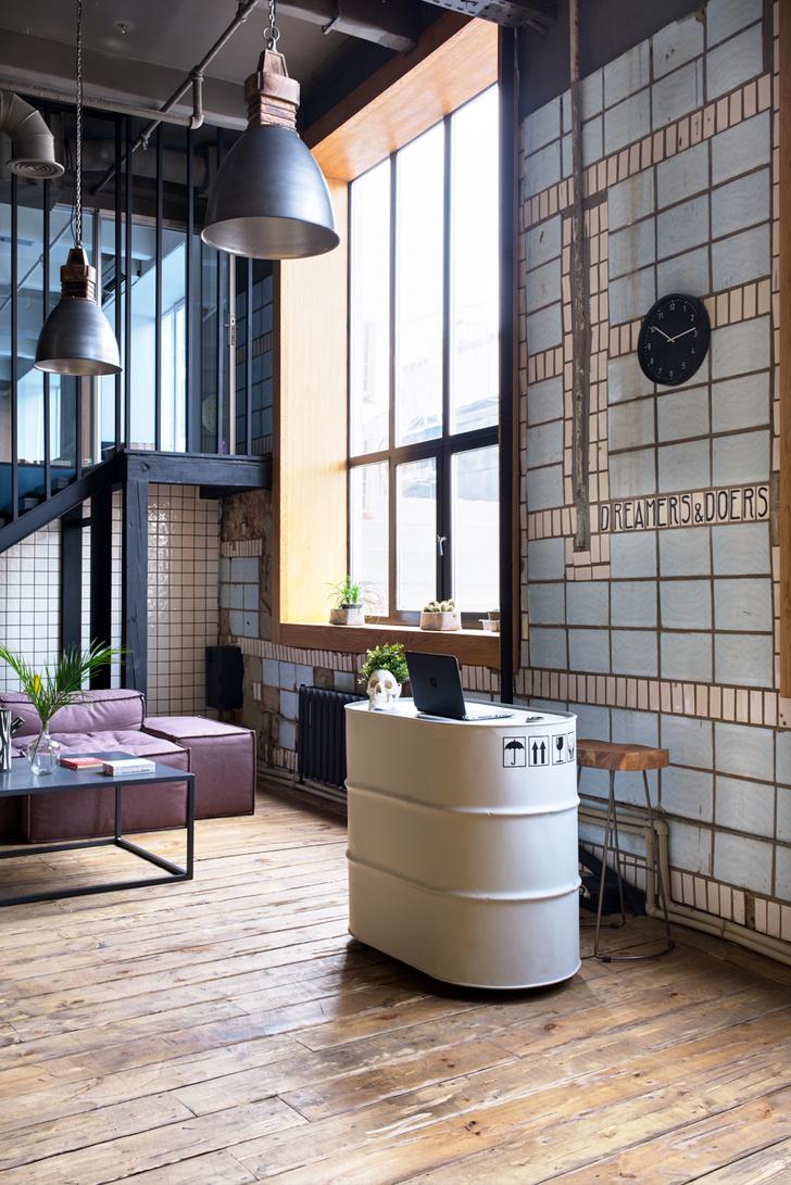 Офис в стиле лофт по проекту Алексея Толкачева (фото 5)