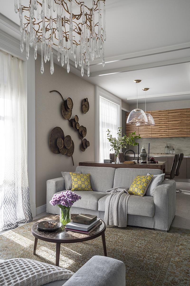 Дизайн кухни-гостиной: 25 решений (галерея 0, фото 2)