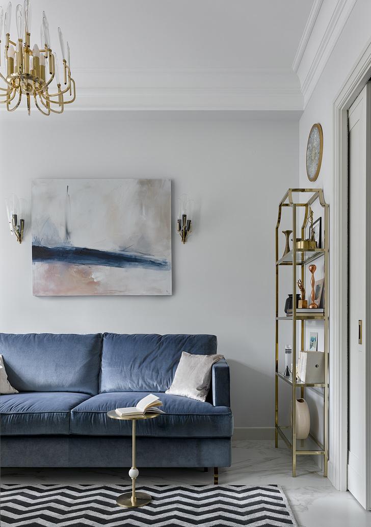 Светлая квартира в стиле современной классики (фото 0)