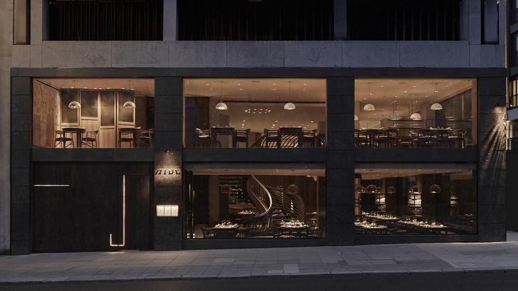 Интерьеры ресторана Hide Евгения Чичваркина (фото 2)