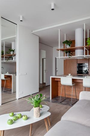 Квартира 44 м² для успешного бизнесмена от студии MAST (фото 1)