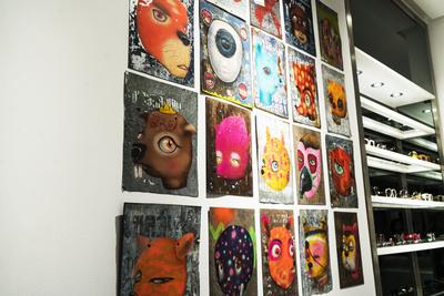 Открытие выставки BKK-MOW в бутике Aizel (галерея 4, фото 5)