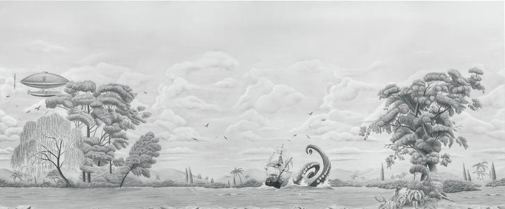 Справа Обои Adventure in the sea из коллекции 2014 года.