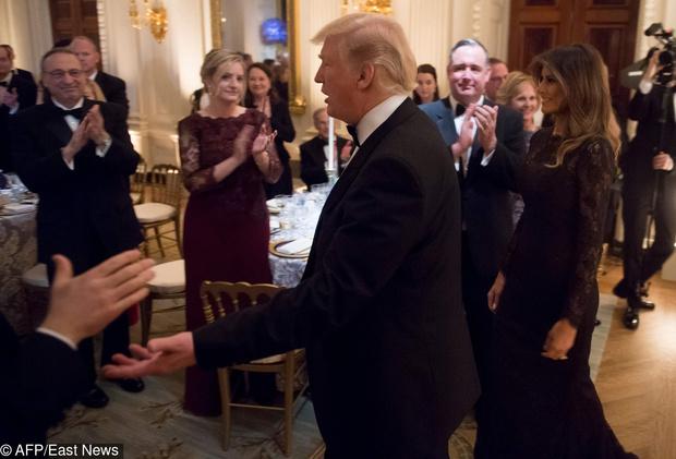 Дональд и Мелания Трамп на ежегодном балу губернаторов (фото 4)