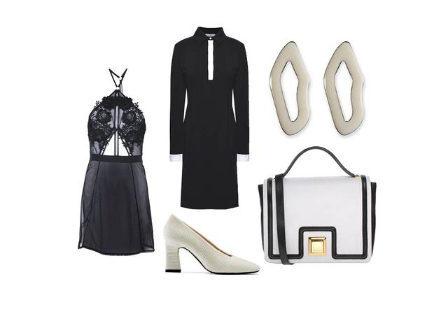 Эффект домино: как носить черные и белые вещи (фото 4)