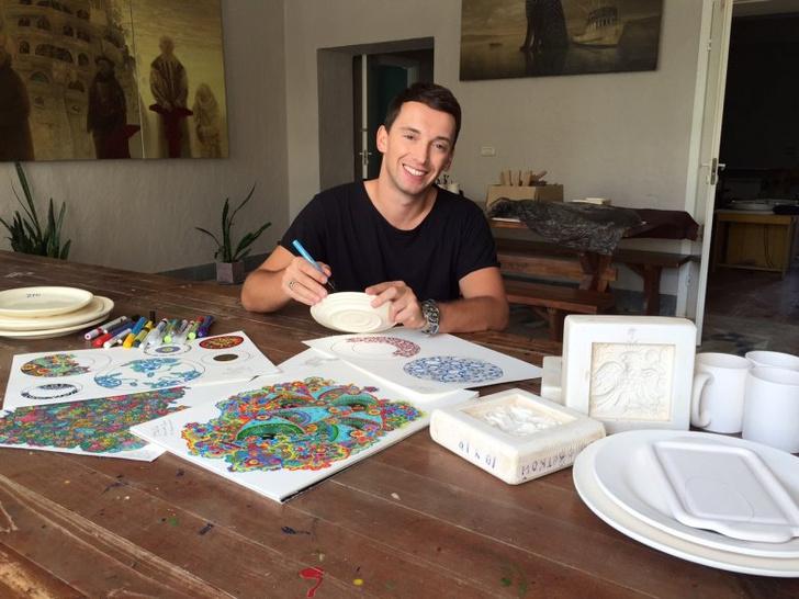 В «Цветном» пройдет выставка Максима Гошко-Данькова