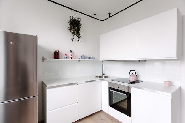 Квартира 33 м²: модный интерьер для молодой девушки от buro5 (фото 3)
