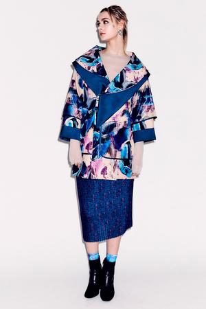 Показ Epson Digital Couture коллекции сезона Осень-зима 2017-2018 года prêt-à-porter - www.elle.ru - Подиум - фото 619135