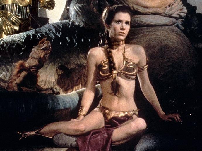 Металлическое бикини Принцессы Леи