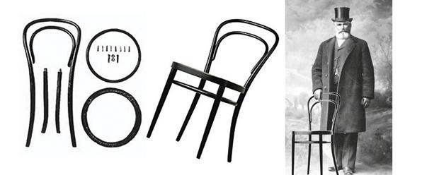 «Тонет» не тонет: история легендарной мебели Thonet (фото 2)