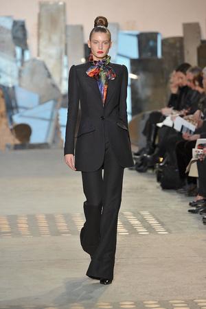 Показы мод Christian Lacroix Осень-зима 2009-2010 | Подиум на ELLE - Подиум - фото 3138