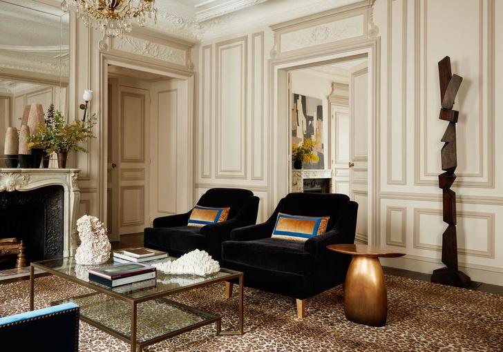 Эклектичный интерьер квартиры в Париже (фото 2)