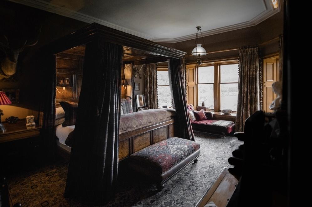 Кровать с балдахином: 10+ интерьеров (галерея 0, фото 3)