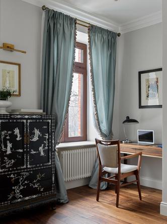 Квартира для семьи с тремя детьми в классическом стиле 140 м² (фото 8.1)