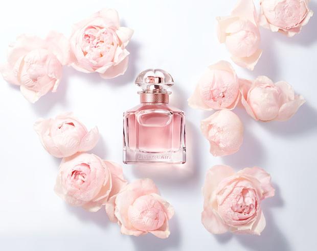 Анджелина Джоли в рекламной кампании нового Mon Guerlain Florale (фото 6)