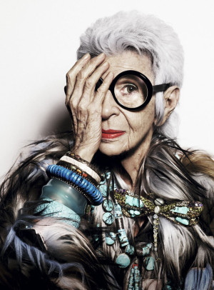 Никогда не поздно! 10 цитат о моде, жизни и любви из новой книги Айрис Апфель (фото 6)