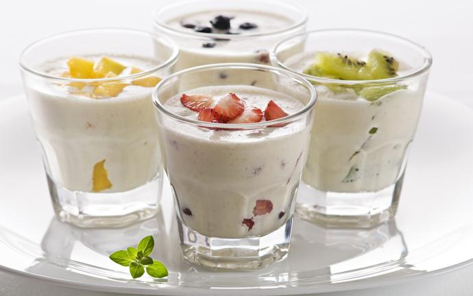 Фруктовые йогурты