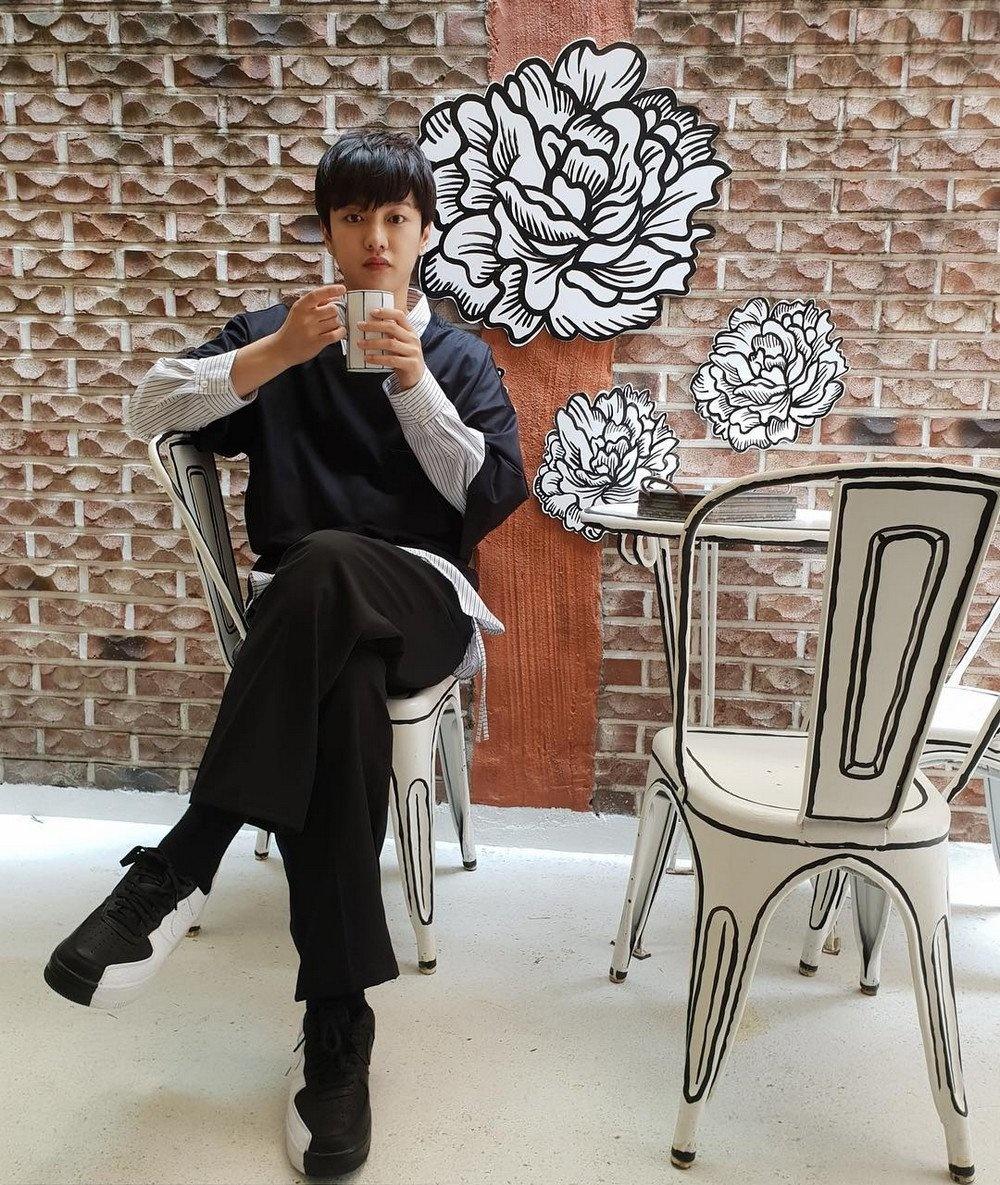 «Нарисованное» кафе в Сеуле (галерея 2, фото 1)