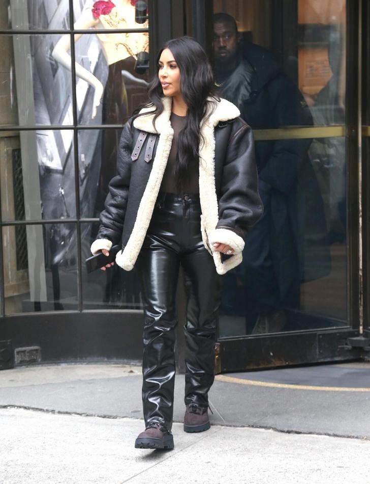 Кожаная куртка с мехом — лучшая покупка ноября (фото 3)