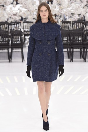 Показ Christian Dior коллекции сезона Осень-зима 2014-2015 года Haute couture - www.elle.ru - Подиум - фото 584657