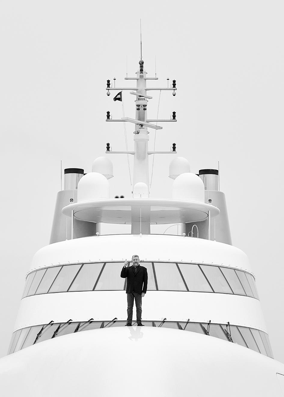 Морская прогулка: парусники и яхты от известных дизайнеров | галерея [3] фото [3]