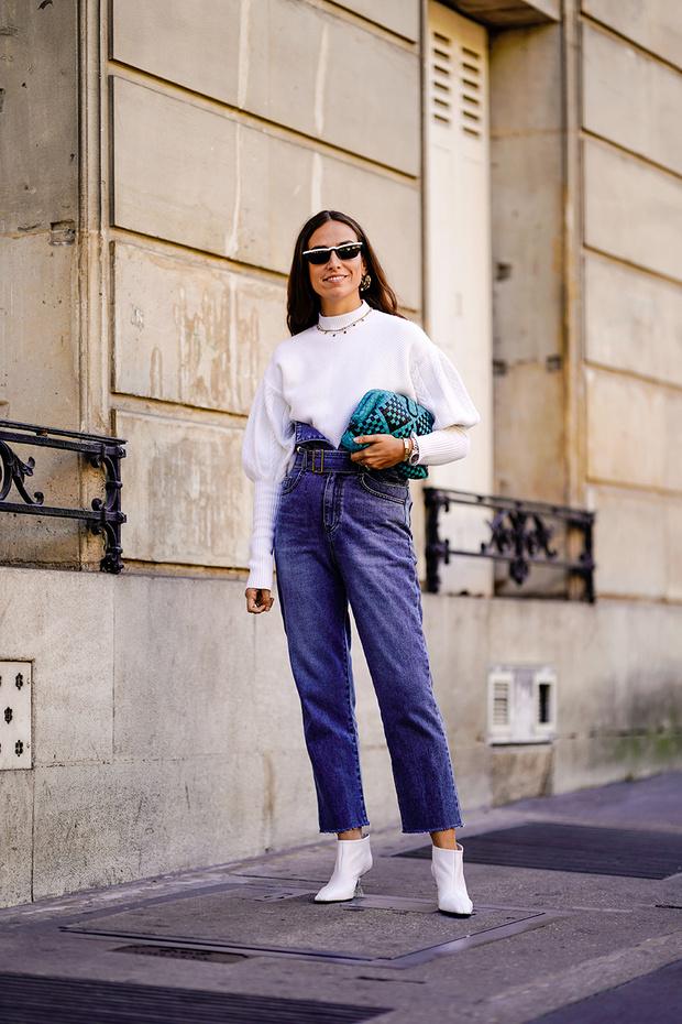 Уроки стритстайла: весенние образы в джинсах-варенках (фото 5)