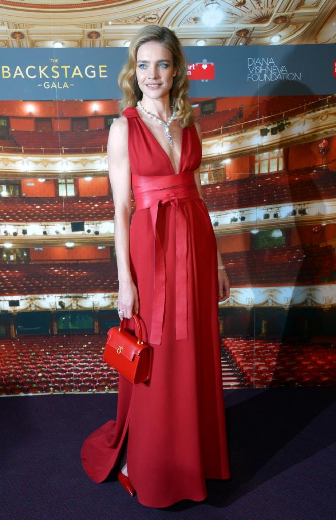 Наталья Водянова в Valentino