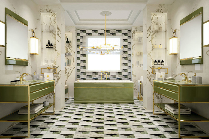 Новая коллекция мебели для ванной Academy от Oasis