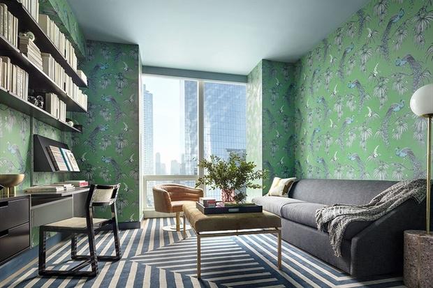 Яркие апартаменты в Нью-Йорке (фото 4)