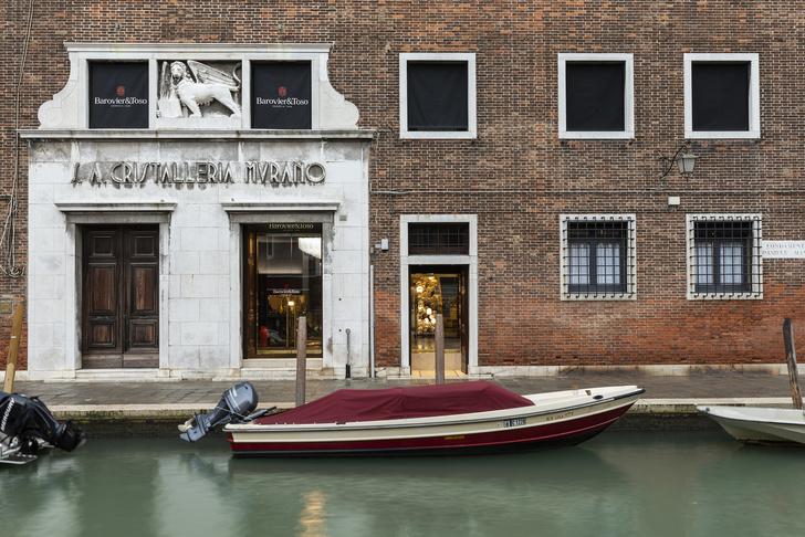 Palazzo Barovier&Toso: флагманский шоу-рум на острове Мурано (фото 0)