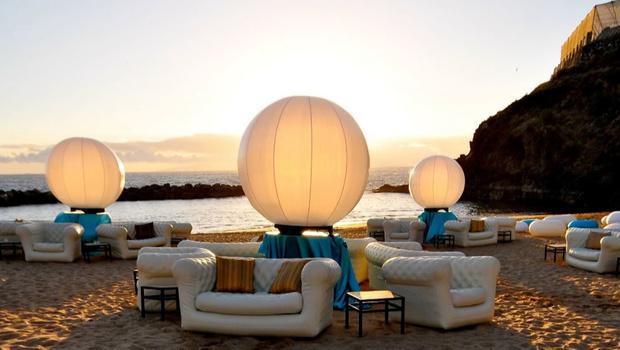 Воздушное создание. Надувные летние аксессуары и мебель (фото 13)