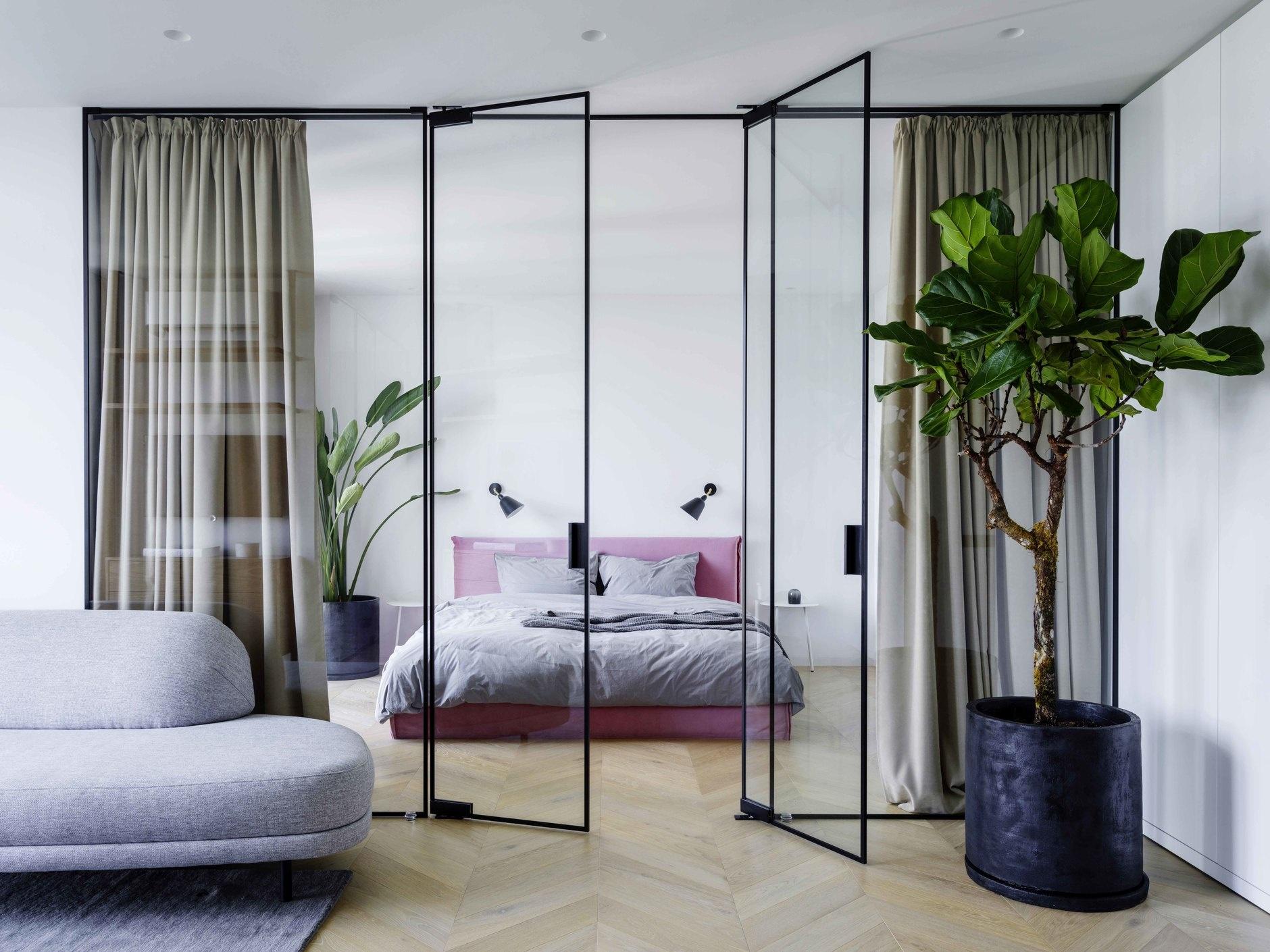 20 способов разделить пространство комнаты (галерея 0, фото 1)
