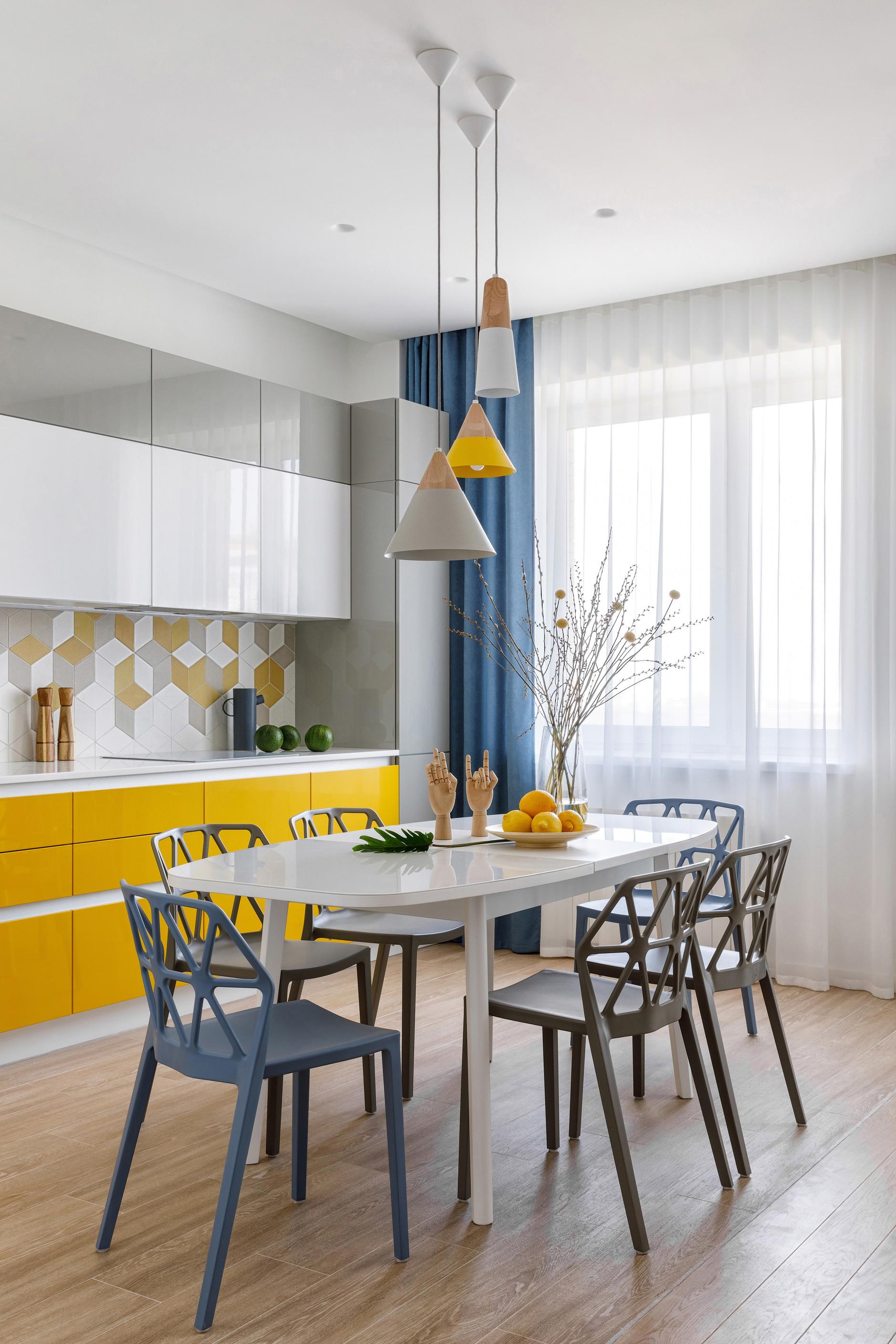 Желтый цвет в интерьере: 15+ идей (галерея 0, фото 6)
