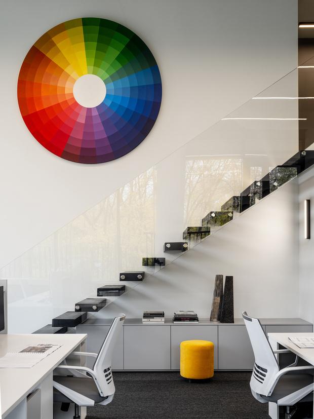 Яркий офис архитектурного бюро Proektor (фото 12)