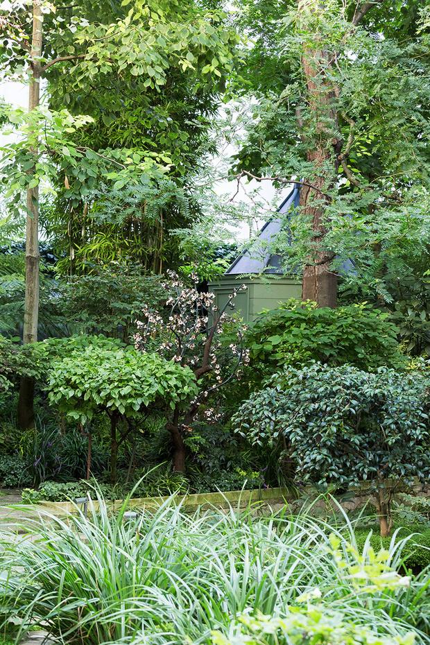 Сад Пьера Берже, партнера и сподвижника Ива Сен-Лорана фото [9]