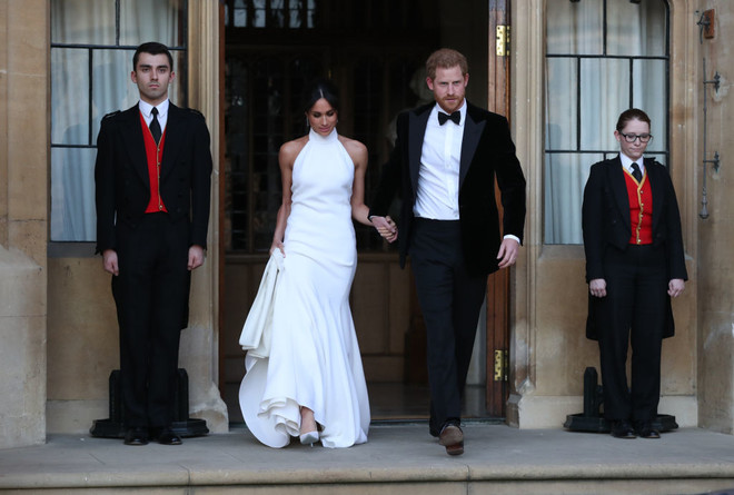 How was Megan Markle's second dress created - and what's his secret? (photo 1)