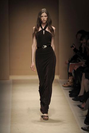 Показы мод Salvatore Ferragamo Осень-зима 2010-2011 | Подиум на ELLE - Подиум - фото 2759