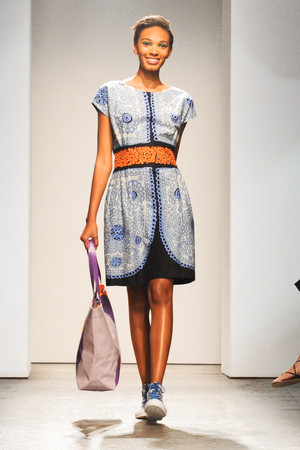 Показ Marimekko коллекции сезона Весна-лето 2013 года prêt-à-porter - www.elle.ru - Подиум - фото 419603