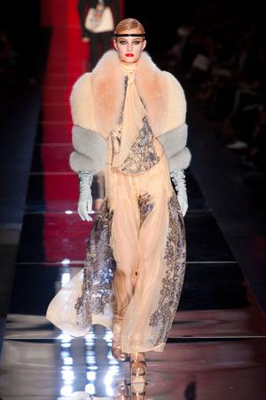 Показ Jean Paul Gaultier коллекции сезона Осень-зима 2012-2013 года Haute couture - www.elle.ru - Подиум - фото 404637