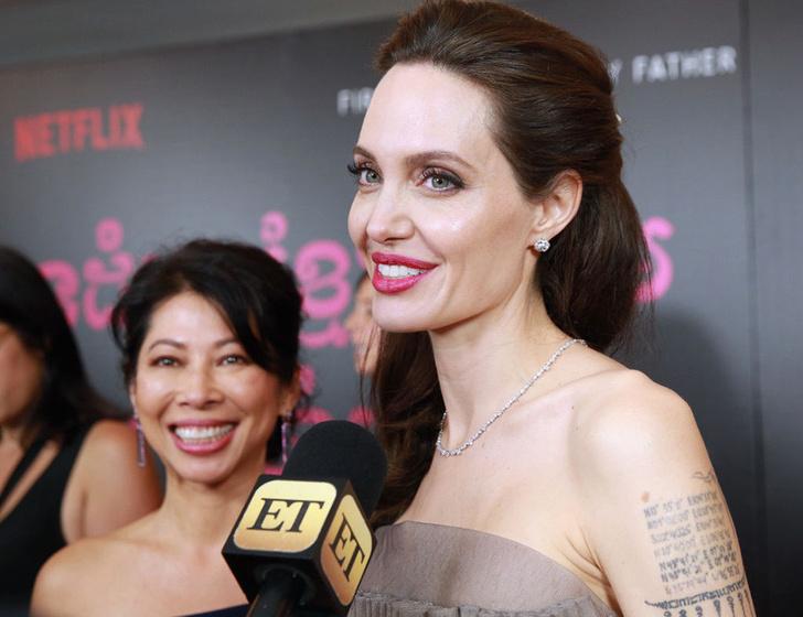 Анджелина Джоли заверила Питта, что воспитывает детей правильно фото [4]