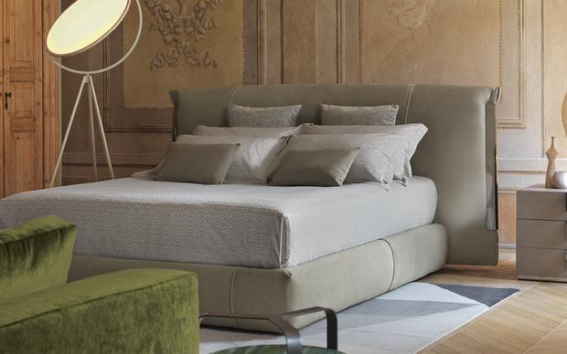 Кровать Amal от Flou